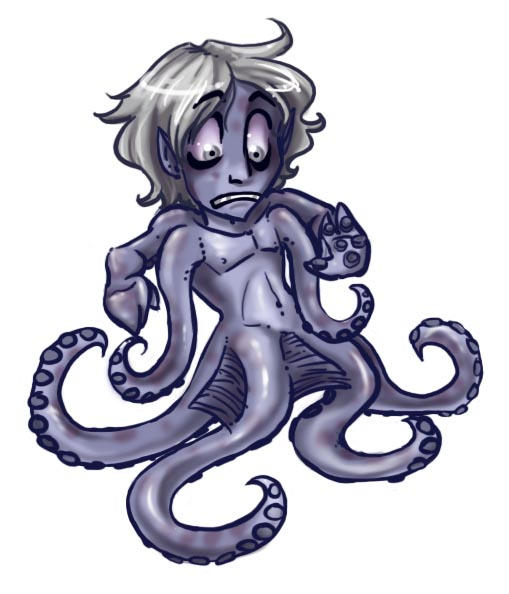 Octobili chibi by Bilious