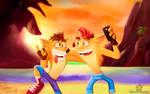 Crash Bandicoot Selfie 25th Anniversary