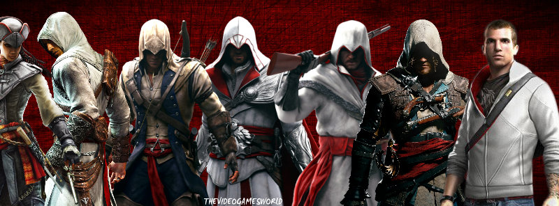 how to draw assassins creed characters