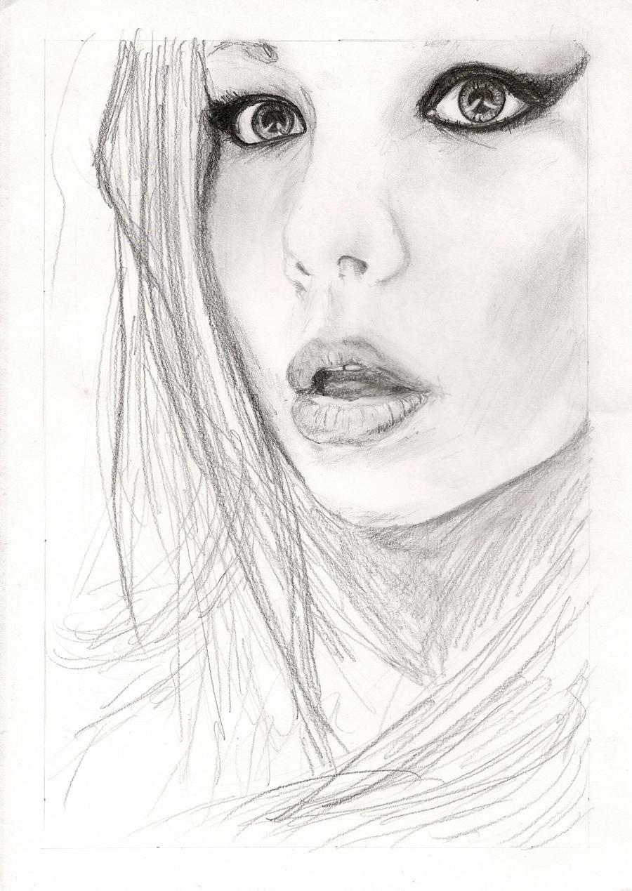 Girl Sketch By Gorylape On DeviantArt