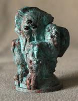 Six-eyed Cthulhu in Copper by BrittaM