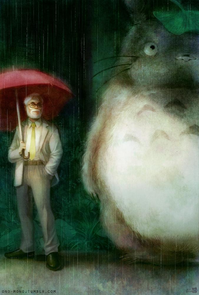Totoro et son cr�ateur