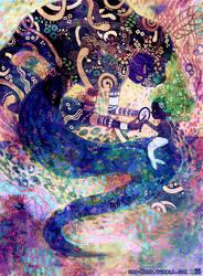 Aqualumina:  Mami Wata by ono-mono