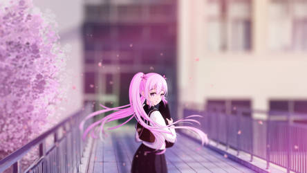 Sakura Miku by PlumZero