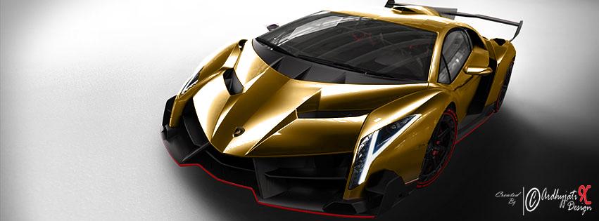 Lamborghini Veneno Gold Colour By Ardhyjatixdesign On Deviantart