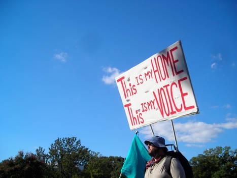 My home, my voice