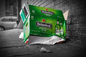 Crushed Dreams - Heinken Box
