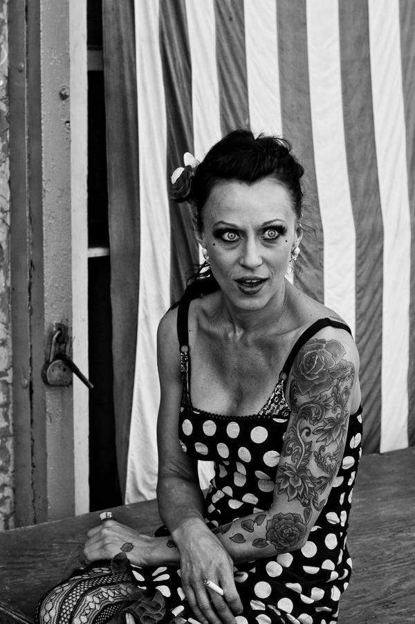 Tattooed Woman by MyPantsAreMissing