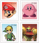 Nintendo Stamps