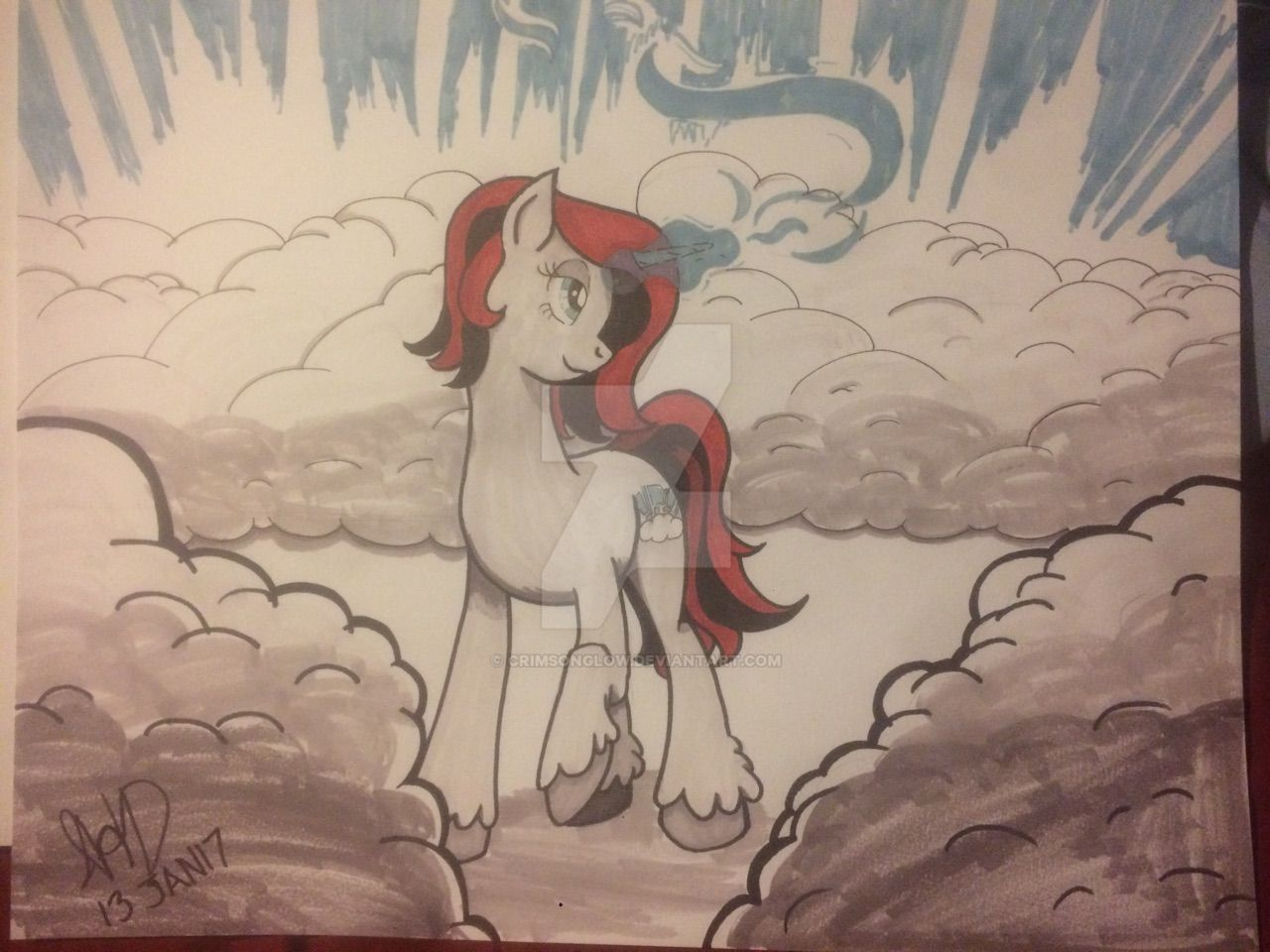 Silver Lining Poster by CrimsonGlow