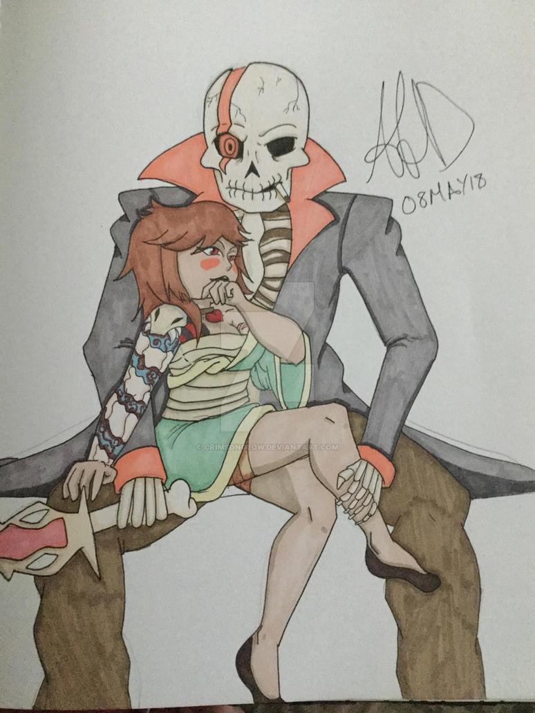 Yakuzaunderswap by CrimsonGlow