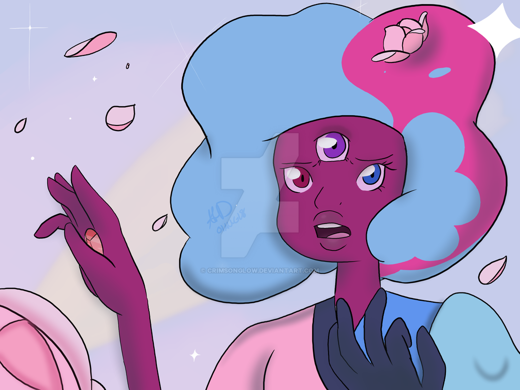 Cotton Candy Beginning Redraw by CrimsonGlow