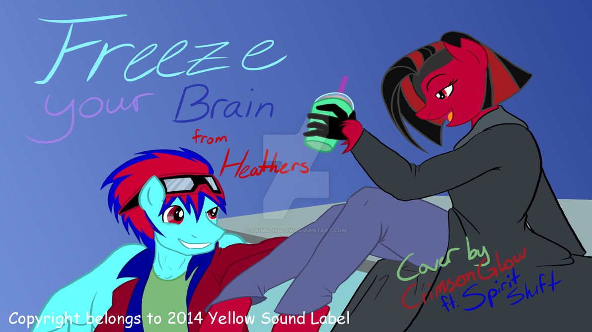 Freeze your Brain Cover Art by CrimsonGlow