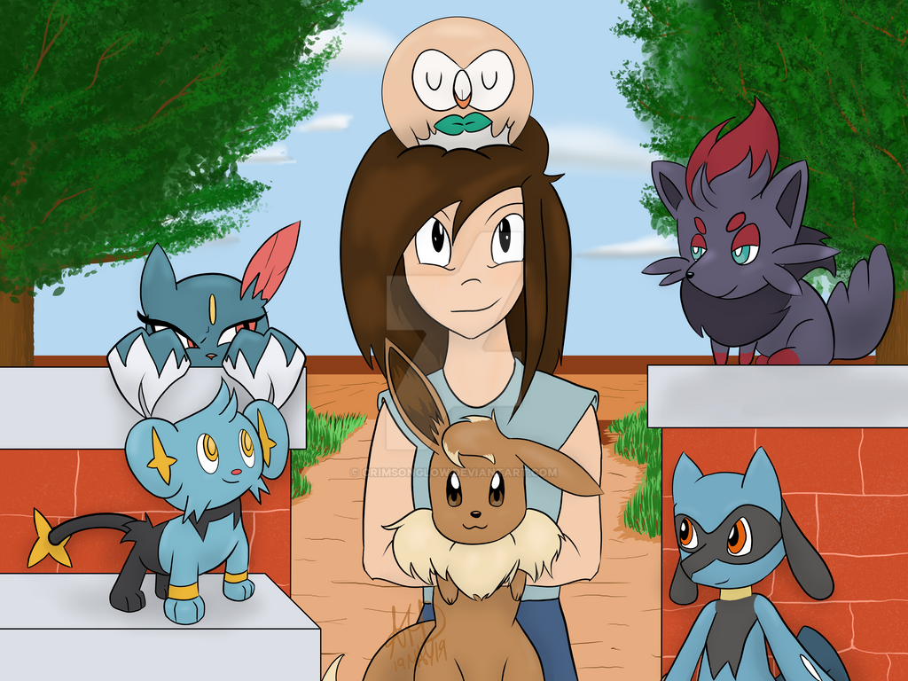 If I was 10 Years Old now, here's my Pokemon Team by CrimsonGlow