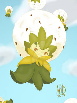 Floating Eldegoss