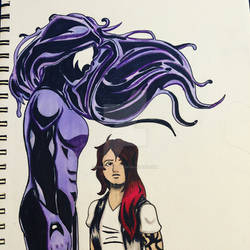 Symbiote OC- Wicked