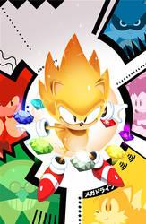 Sonic: Mega Drive - Overdrive Cover
