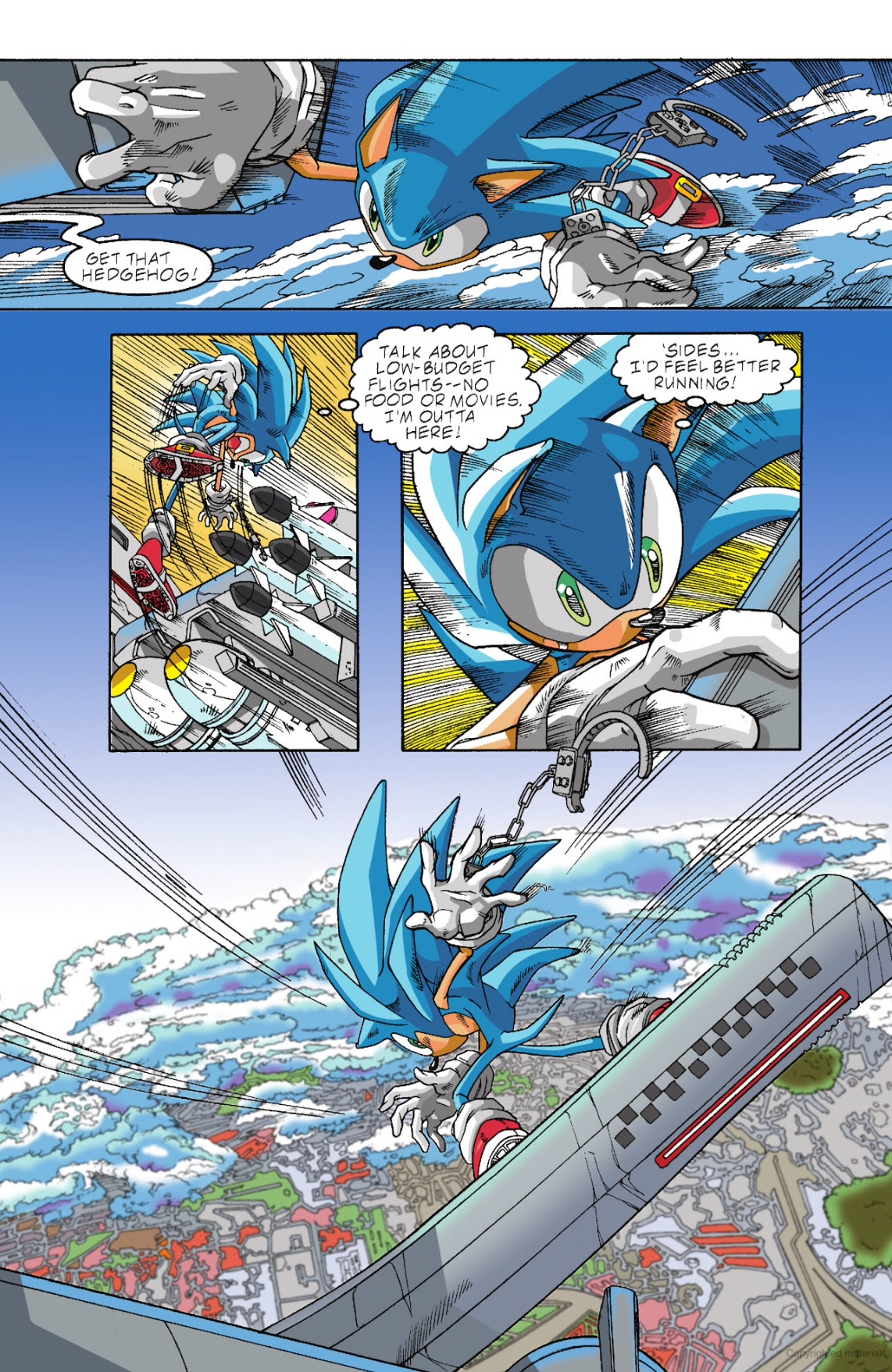Archie Sonic The Hedgehog Issue 98 Page 13 By Ideafan128 On Deviantart