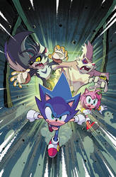 IDW Sonic the Hedgehog 15 (IDW Publishing) Cover A