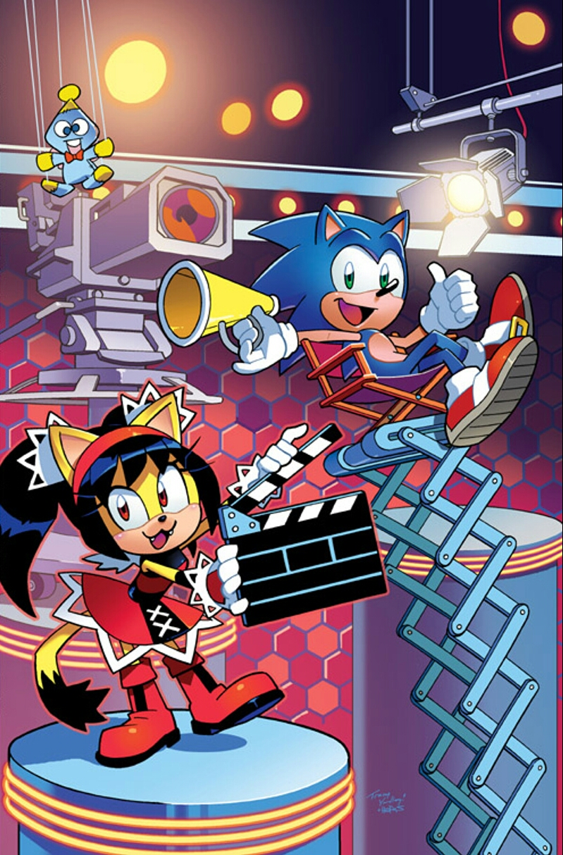 Sonic The Hedgehog 293 Archie Comics Cover By Ideafan128 On Deviantart