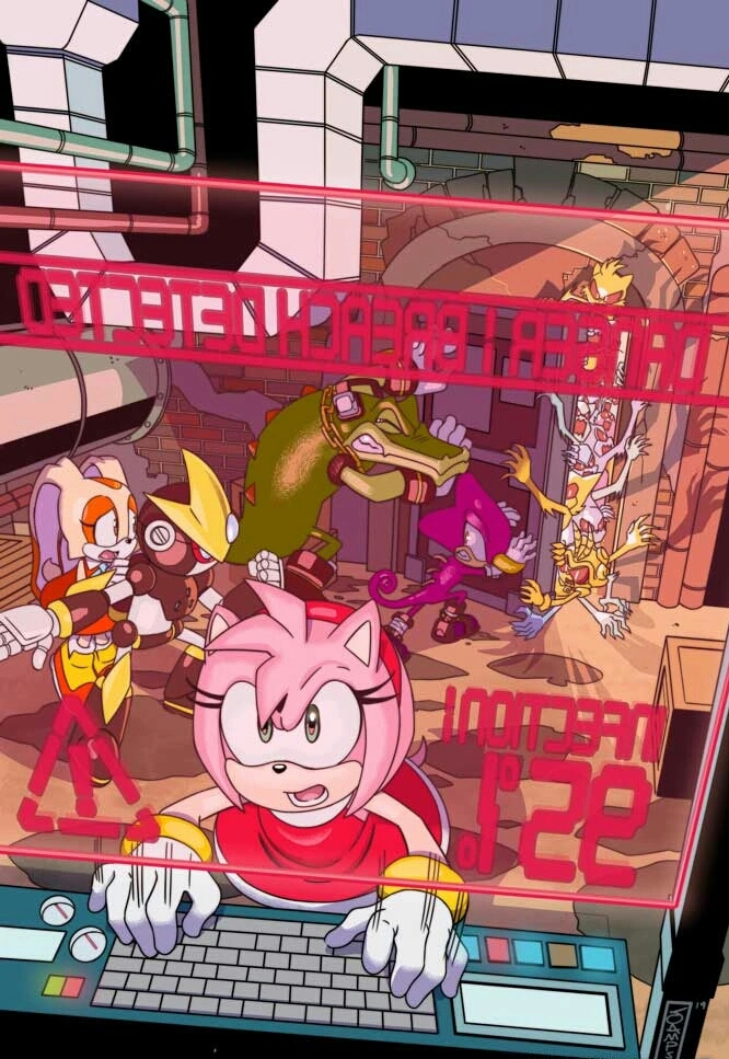 Sonic The Hedgehog 22 Idw Publishing Cover A By Ideafan128 On Deviantart