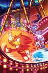 Sonic the Hedgehog 36 (IDW Publishing) Cover B