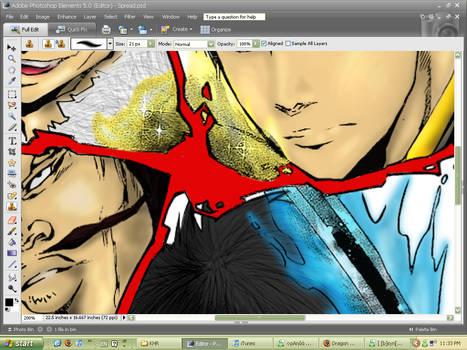 KHR Manga Color