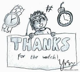 My First Watch - Gift for LegendWolfKara
