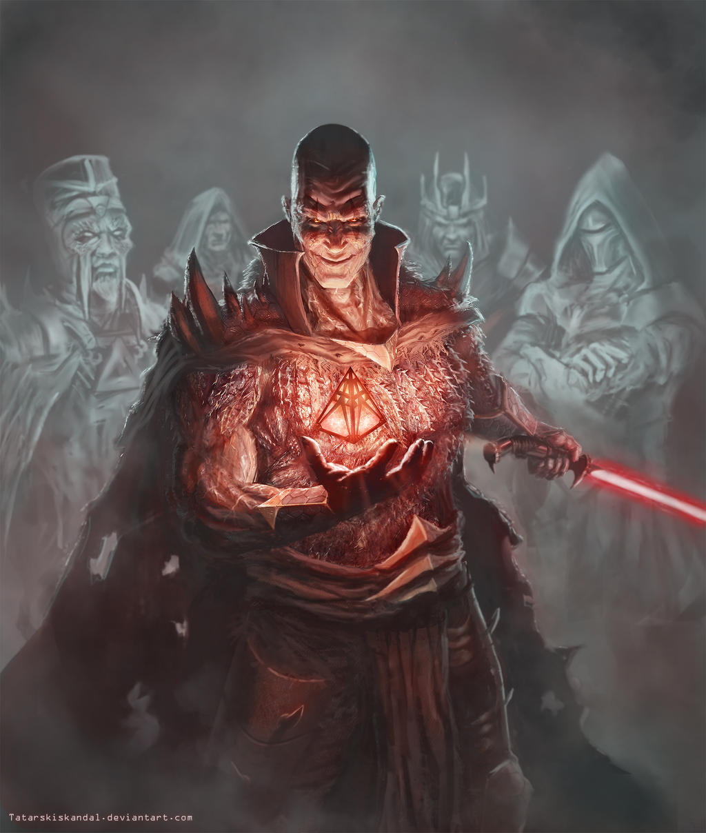 Darth Bane of Sith by TatarskiSkandal