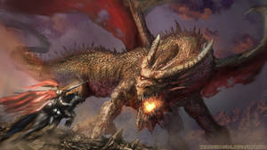 Dragon and st George