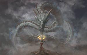Mystic Dragon speedaint by TatarskiSkandal