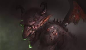 Evil Imp SpeedPaint by TatarskiSkandal