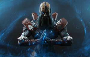 Cyber Monk by TatarskiSkandal