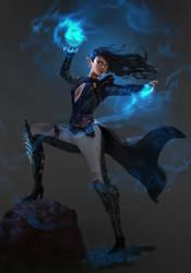 Lizzy the Wizardress