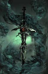 Back view of The Lord of Death cover