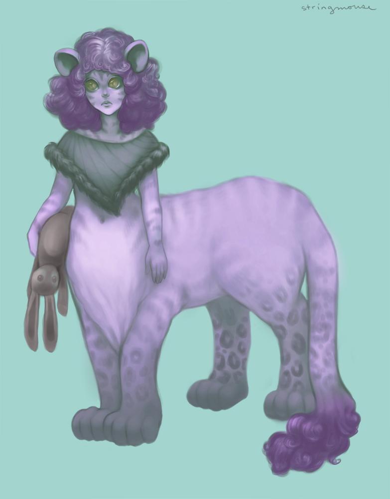 Cute Felitaur by stringmouse