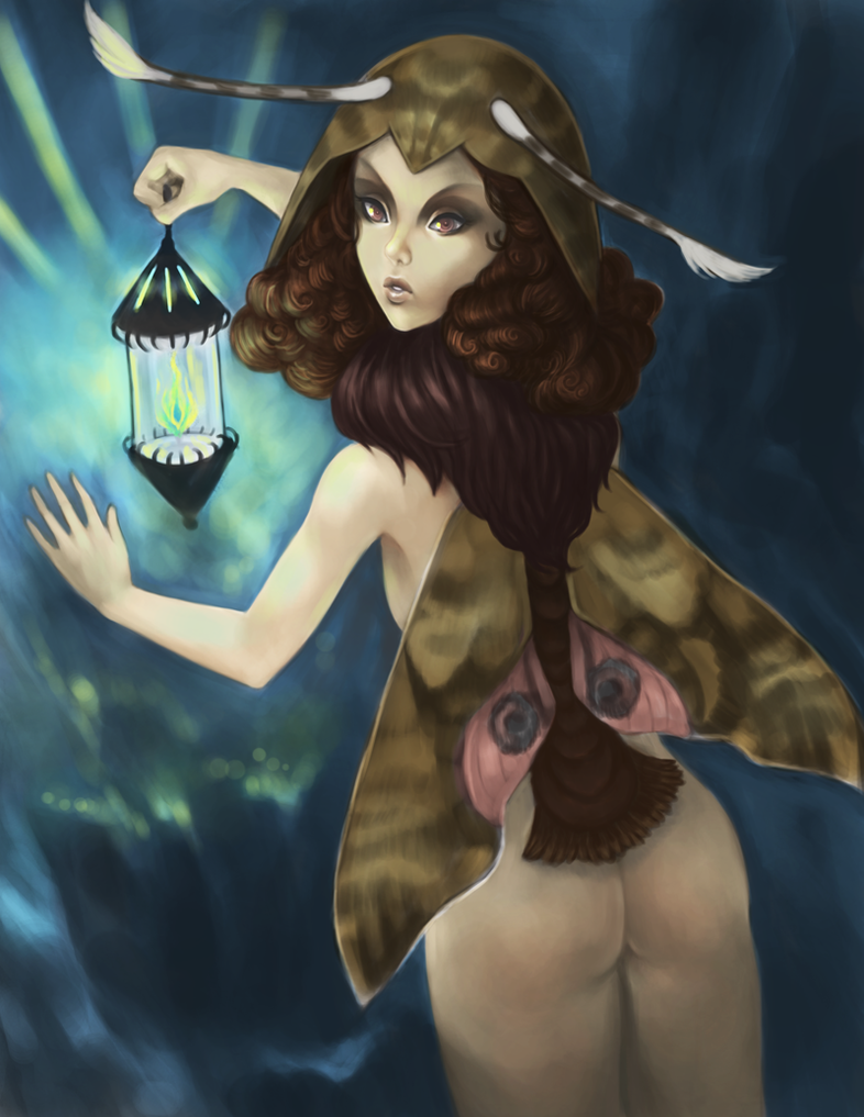 Moth by stringmouse