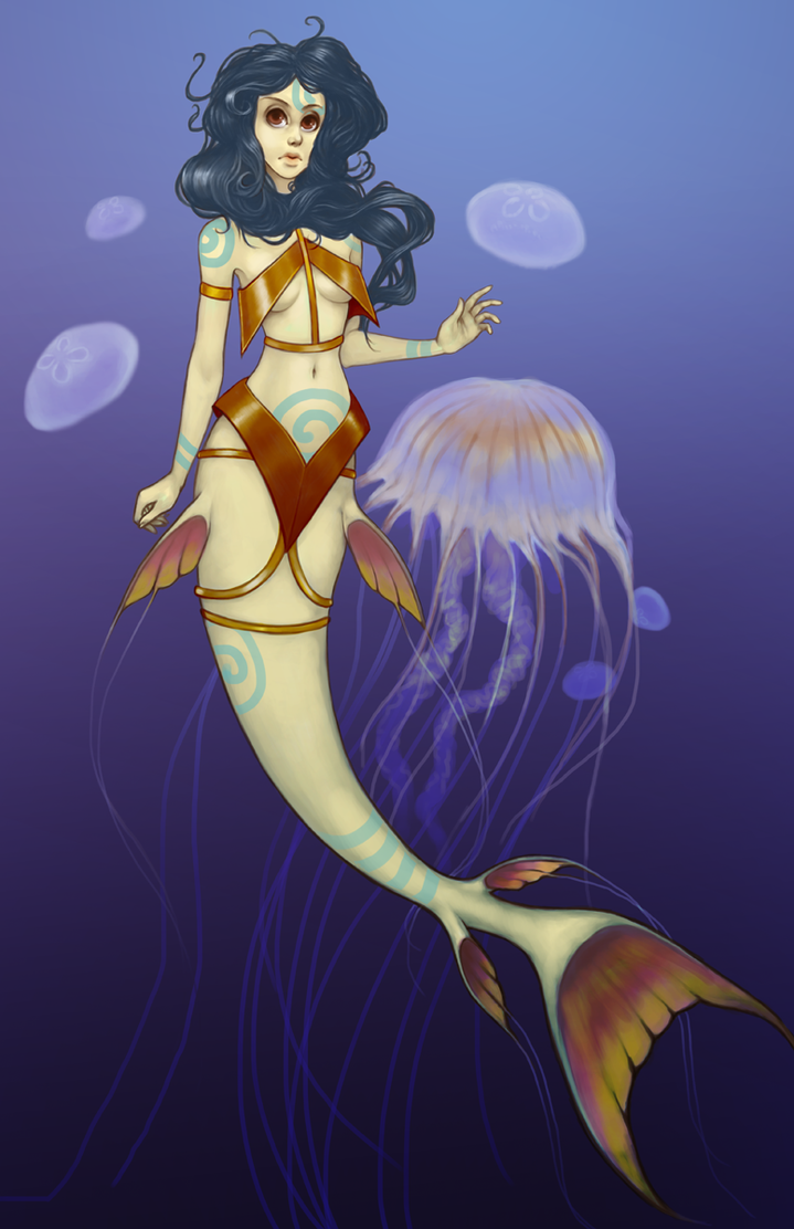 Jellyfish Guardian by stringmouse