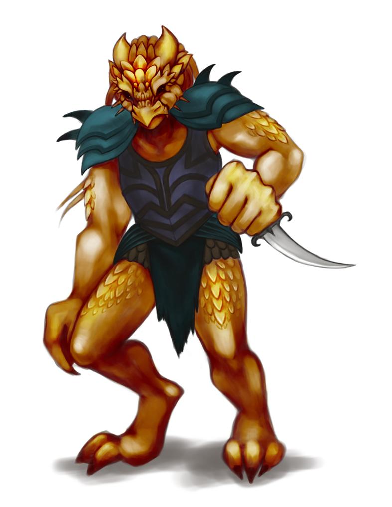 Dragonborn Kriv by stringmouse