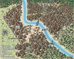City of Curton  by Crawfordcartography
