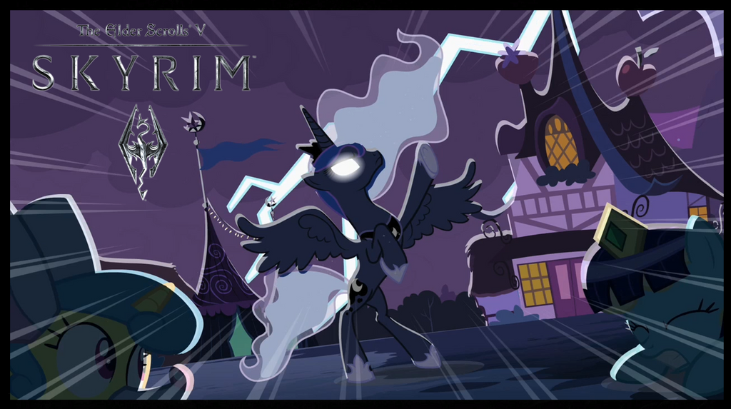 Skyrim Nightmare Night Theme by X-Flame-Dancer-X