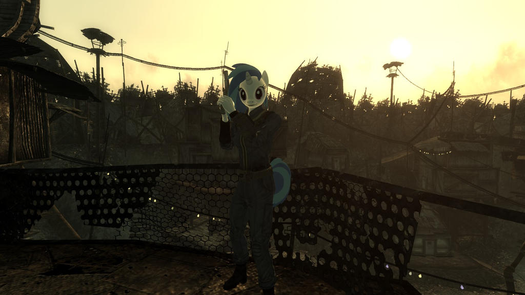 The New DJ of the Wasteland by XxFlamerunnerxX