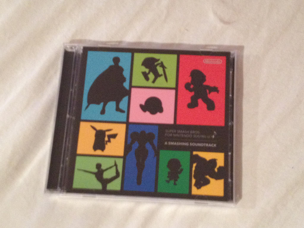 Exclusive Super Smash Bros (3ds / Wii U) CD by XxFlamerunnerxX