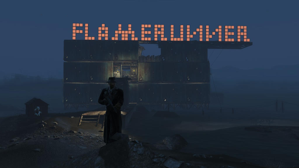 Fallout 4 Flamerunner's House by X-Flame-Dancer-X