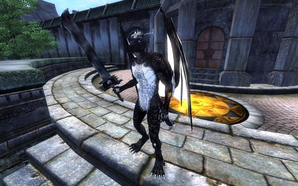 Oblivion Flamerunner Dragon by x-Flamerunner-x