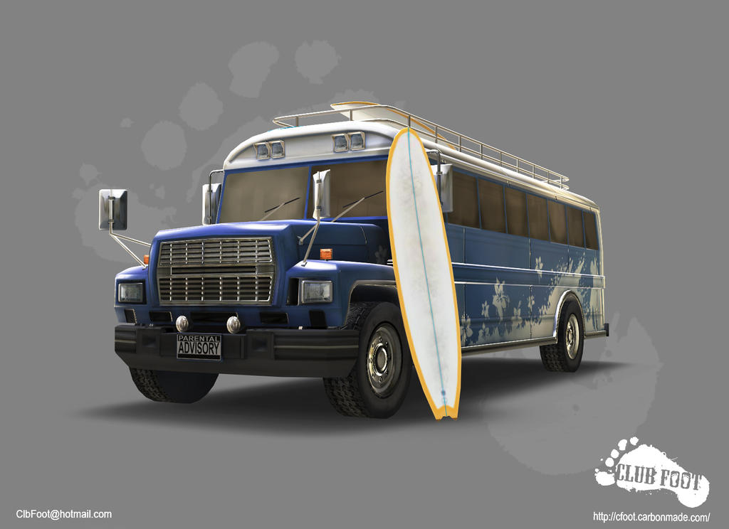SurfBus 01 by CLUBF00T