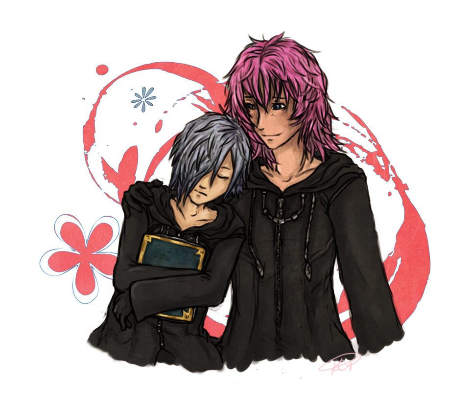 Zexion x Marluxia by Genesisi