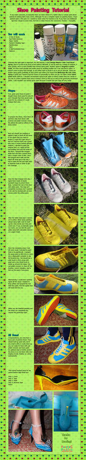 Shoe Painting Tutorial