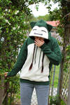 Snorlax Inspired Pullover Hoodie