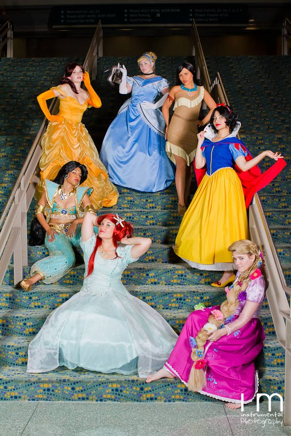Disney Ladies by CosplayCousins